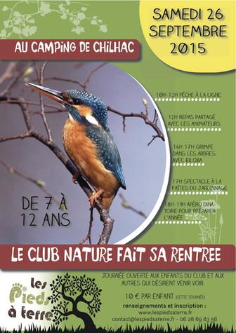 La rentrée du Club Nature!