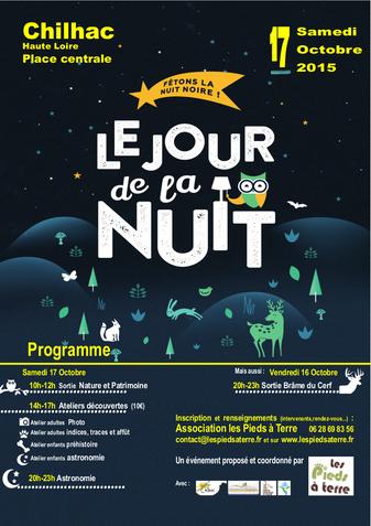 Jour de la Nuit à Chilhac le 17 octobre 2015