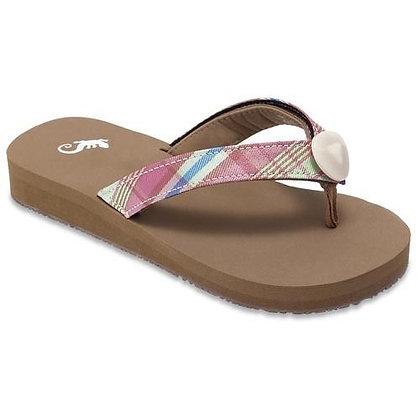 Sierra's Sandals - Flat Brown