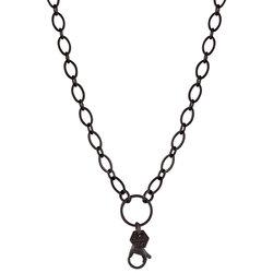 Chain - Flat Oval Link (Gunmetal)