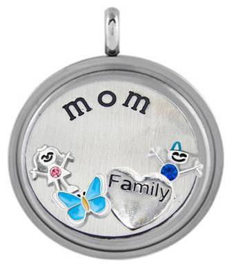 Locket - Mom & Children