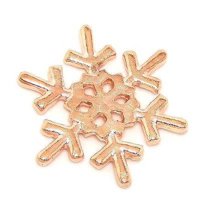 Snowflake (Rose Gold)