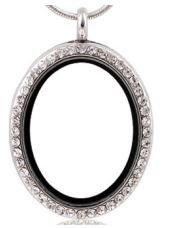 Locket - Silver Oval