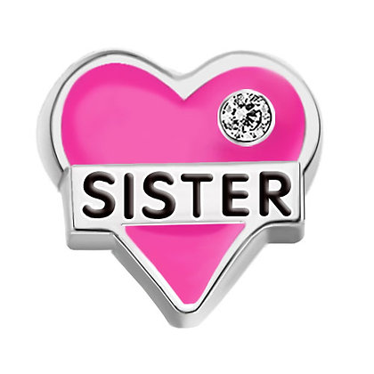 Sister - Pink Heart