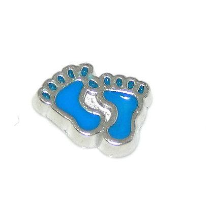 Footprints - Blue