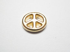 Peace Sign - Gold