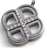 Locket - Silver Clover