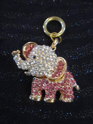 Pink Elephant - Crystal