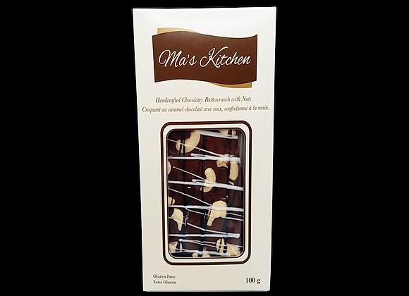 Ma's Kitchen -Toffee,Chocolat au lait & noix de cajou