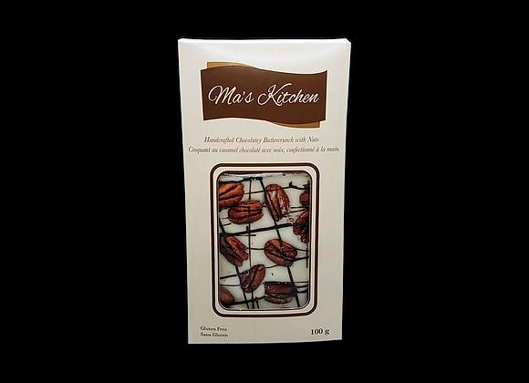 Ma's Kitchen - Toffee ,Chocolat blanc et noix de Pécan