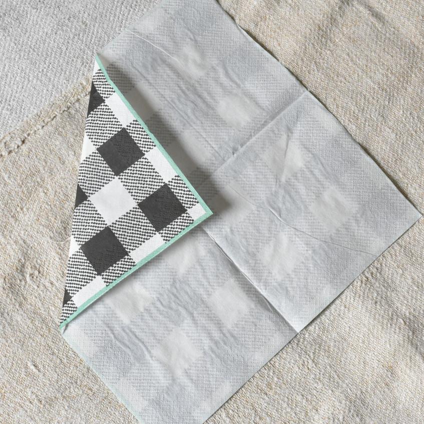 love letter napkin