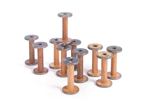 Set of Vintage Spools