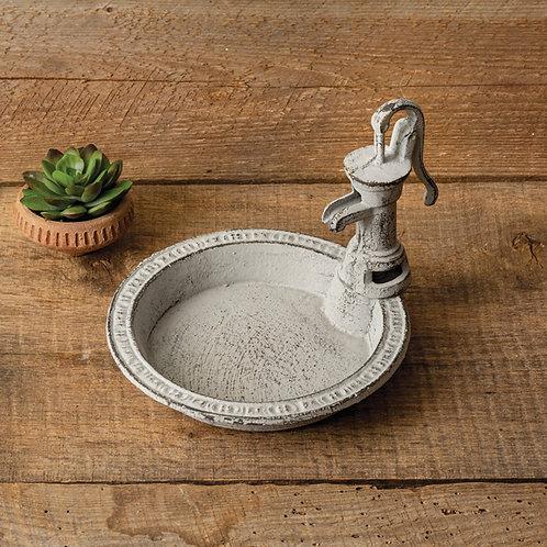 Cast Iron Water Pump Dish