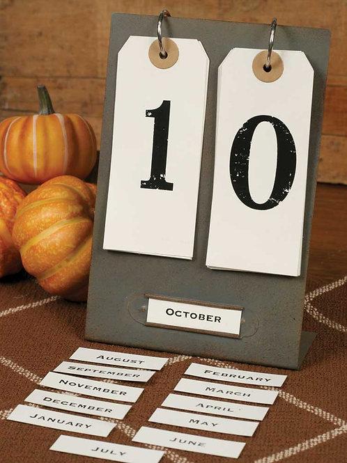 Day and Month Desktop Perpetual Calendar