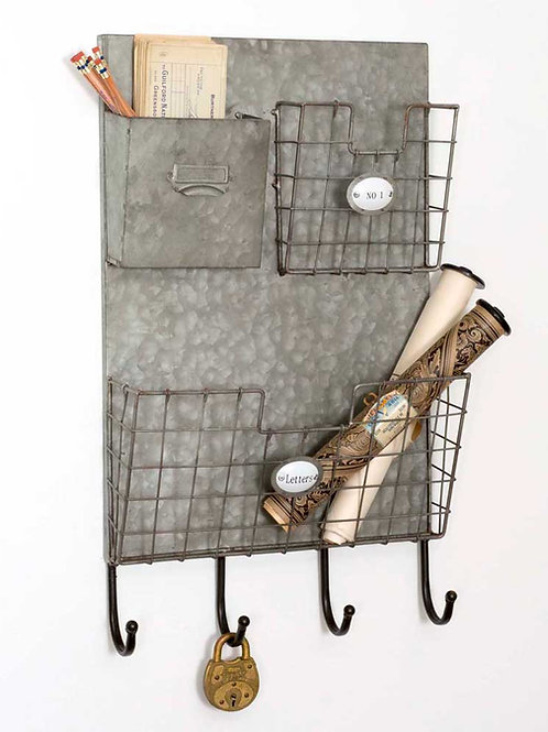 3 Pocket Letters Wall Caddy