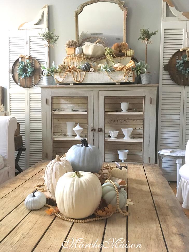 Happy Fall Ya'll Living Room