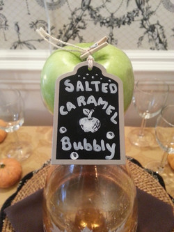 specialty cocktail apple lable