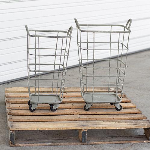 Set of 2  Heavy Duty Rolling Carts