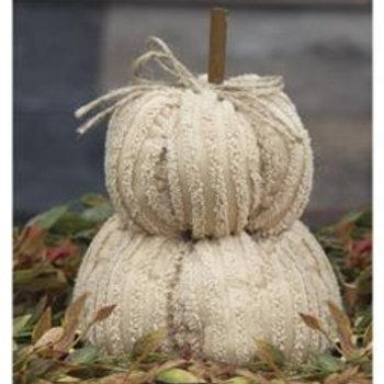 Mini Chenille Pumpkin Stack
