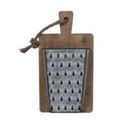 Grater Pocket on Cutting Board