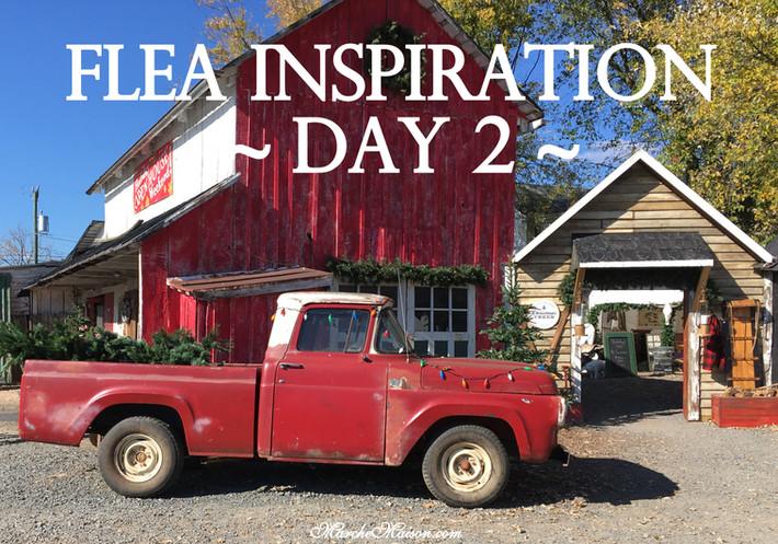 Flea Inspiration ~ Day 2~