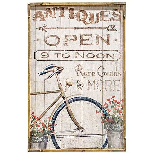 Vintage Style Bicycle Sign