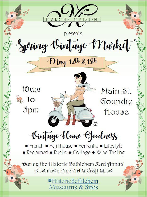 Marche Maison's Spring Vintage Market