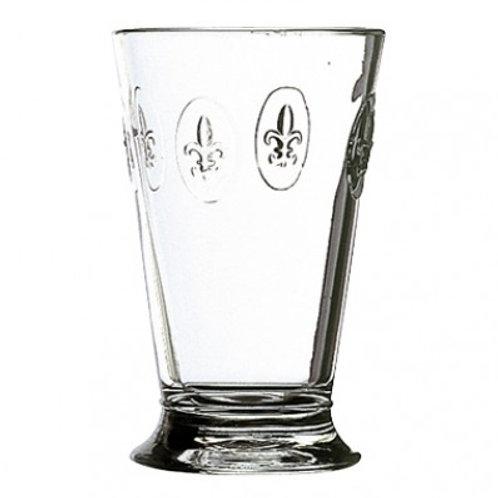Fleur de Lys 10 oz Glass set/6
