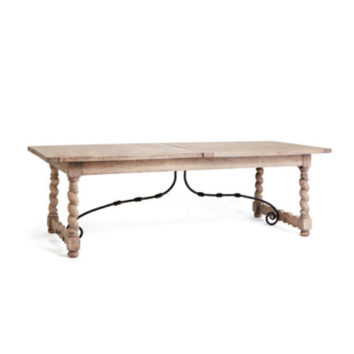 Audrey Washed Wood Dining Table