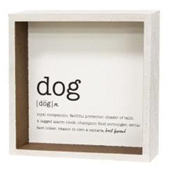 Dog Defined Sign