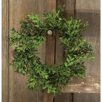 "7"" Boxwood Wreath"