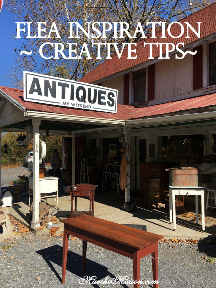 Flea Inspiration ~Creative Tips~