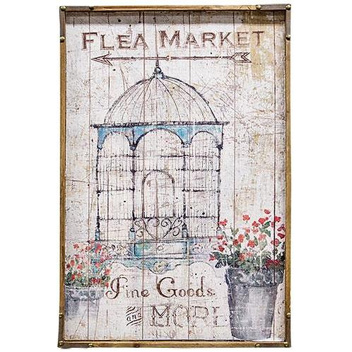 Vintage Style Flea Market Sign