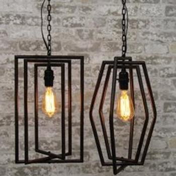 Geometric Hanging Lamp