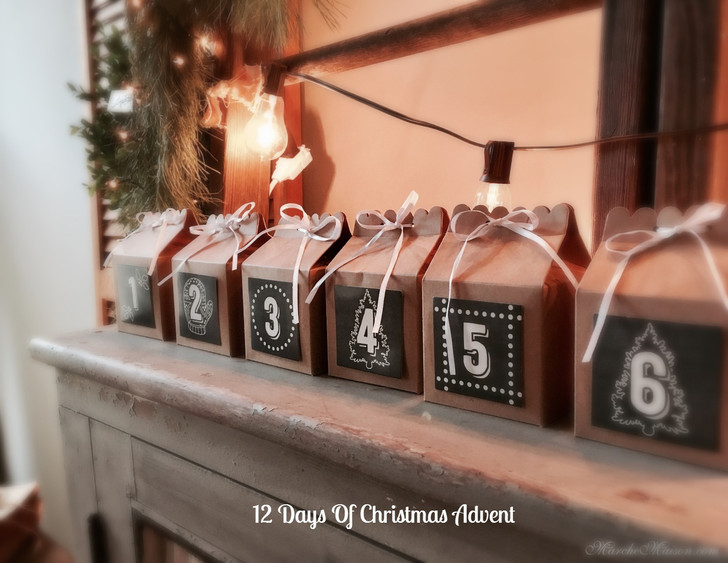 12 Days of Christmas Advent