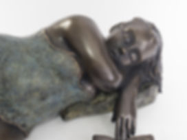 Sculpture bronze contemporain | Mimi sculptures
