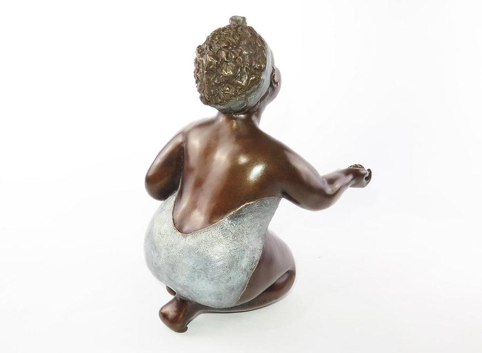 Sculpture bronze contemporain | art déco | Mimi sculptures