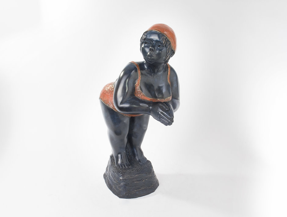 sculpture bronze contemporaine