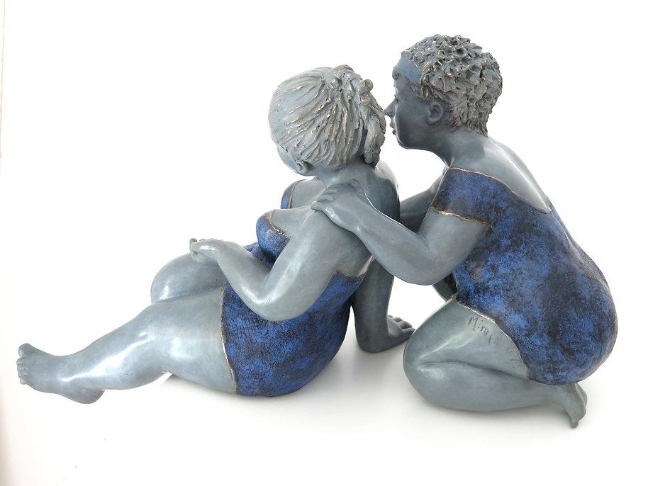 Sculpture bronze contemporain | Mimi sculptures