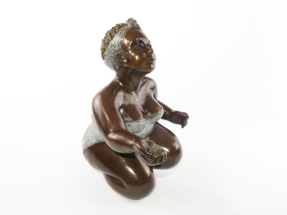 Sculpture bronze contemporain |art déco | Mimi sculptures