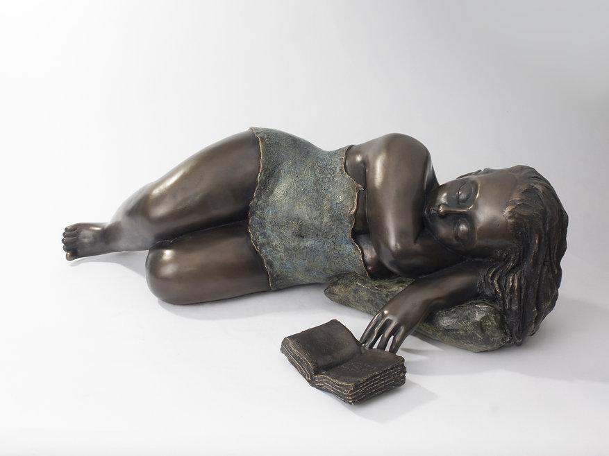 Sculpture bronze contemporain | Mimi sculptures | art déco | Mimi sculptures inspiré de Tamara de Limpika