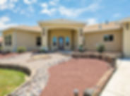 Custom Built 3 Bedroom, 3 Batroom, 3 Garage home fo Sale in Mid Valley Airpark in Los Lunas, New Mexico listed with Nicole Golino of Nino Trujllo and Company.