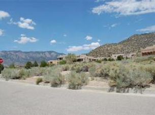 Albuquerue Foot Hills Lot for Sale build a custom home listed with Nino Trujillo and Company by Realtor Nicole Golino.