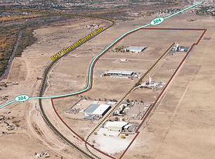 Industrail Property for Sale with lead off to BNSF, close proximity to I-25, zoned for heavy insdustrial in Belen, New Mexico listed with Nino Trujillo and Company by Realtor Nicole Golino.