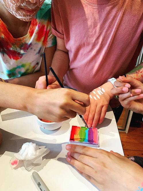 Adult Monthly Jams: Art, Chat and Treats Onsite   3 Sessions