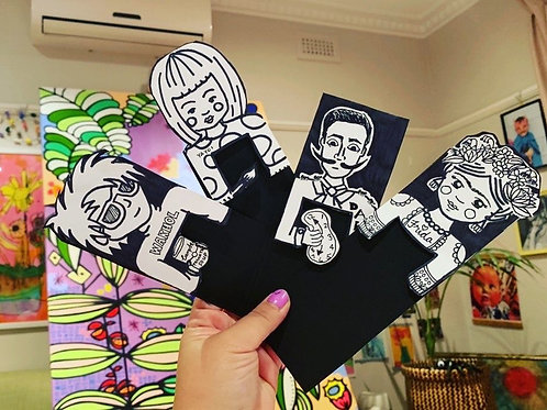 Bookmark Art Buddies PDF