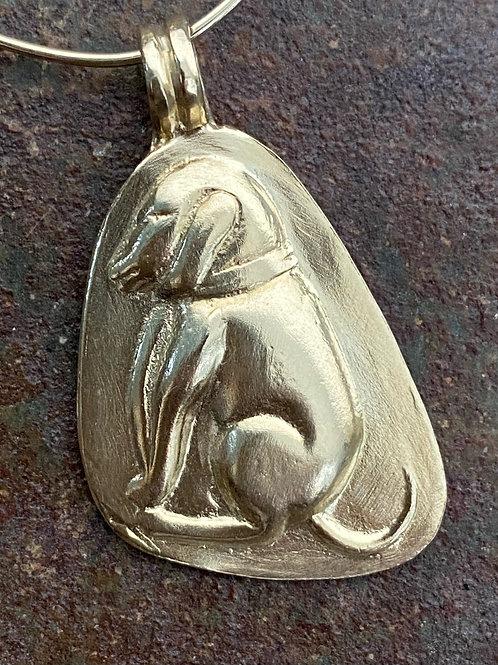 DOG Gold 14kt Charm
