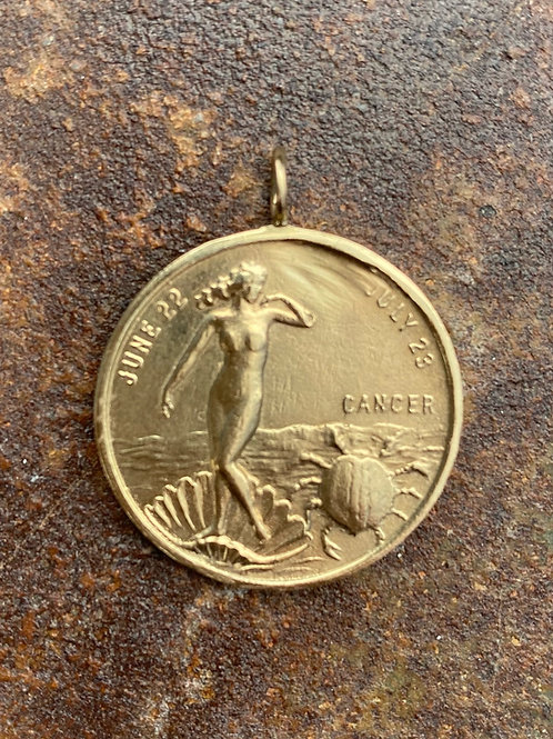 Gold Coin 14kt Charm