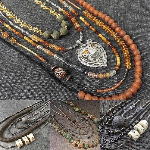 NECK PARTY Diamond necklaces