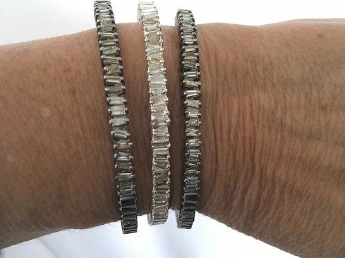 Diamond Baguette Bracelets